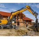 Wheeled excavators