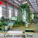 Push-pull pickling line, cold rolling mill, galvanizing line and color coating line