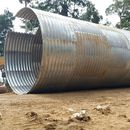 Corrugated steel pipe/Pipa baja bergelombang type Multi plate pipe