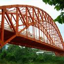 Arch Bridges/Steel Bridge/Jembatan Baja (Bukaka)