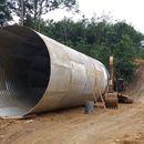 Armco/Corrugated steel pipe/Gorong-Gorong Baja Multi Plate Pipe(PT.Chasana global mandiri )