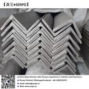 STAINLES STEEL ANGLES AISI-304 ASTM A276 - FINISHED N1 HOT ROLLED ANNEALED AND PICKLED, SHOT BLASTED AND STRAIGHTENED