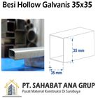 Besi Hollow Galvanis 35x35x1