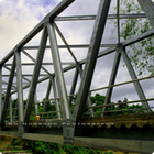 Truss Bridges/Jembatan Baja standar Anti karat (Bukaka)