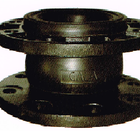 Single Sphere Flexible Rubber Joint with Foating Flanges