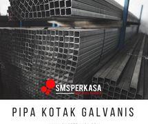 Pipa Kotak Galvanis