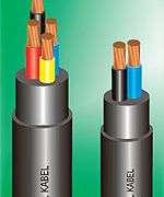 HEAVY THERMOPLASTIC FLEXIBLE CABLE (NYYHY - 0 (I) 450/750 VOLT)