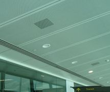 TJS Perforated metal ceilings