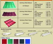 WIJA ROOF – GENTENG METAL COLOUR