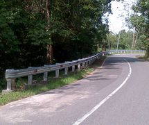 Guard Rail Pagar Pengaman Jalan type A