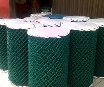 Kawat Harmonika lapis PVC, MAKMUR ABADI