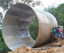 Corrugated Steel Pipe Multi Plate Pipe