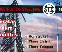 Round Pipe (Construction Steel Pipe STK - 400)