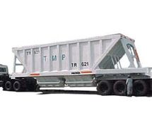Bottom Dump tipper Trailer (UNITED TRACTORS PANDU ENGINEERING)