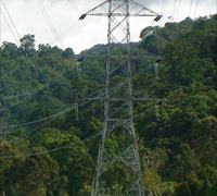 Transmission Tower (Lattice Tower)/Menara Transmisi (Bukaka)