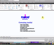 Customized AutoCAD Products