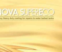 NOVA SUPERECO Epoxy Heavy duty coating for repairs to water ballast tanks