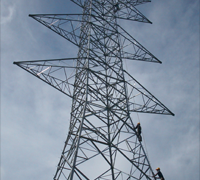 Steel Tower 275kV DC 2xZebra tipe BB