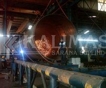 Spiral Weld Pipe AWWA C200 / ASTM A252 Gr 2 OR Pipa Spiral Weld Las Spindo Besi Baja (PT. Kalimas Sarana Suplindo)