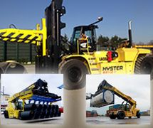 Forklift - Hyster Reach Stacker