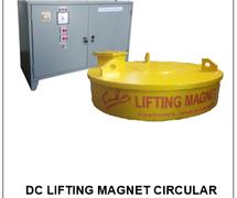 DC LIFTING MAGNET CIRCULAR