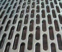 TJS Slots Perforated Metal Sheet