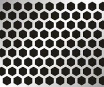 TJS Hexagonal Perforated Metal Sheet