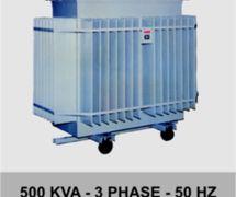 OIL-IMMERSED TRANSFORMER 127V/ 220V/ 231V/ 400V