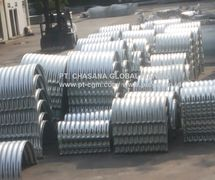 Corrugated Steel Pipe/Pipa Baja Bergelombang