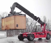 FANTUZZI TEREX CONTAINER STACKER