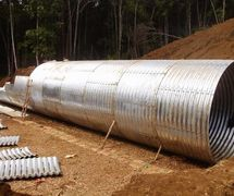 Armco Type Multi Plate Pipe