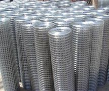 Welded wire mesh plain
