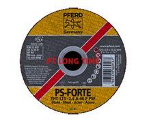 PFERD Cut-Off Wheels 125 x 2.4mm PS-Forte Flat Type EHT