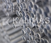 Pipe Medium / Sch 40 Suitable for High Rise Building / Commercial Building Projects / Factory Spindo High Quality Pipes (PT. Kalimas Sarana Suplindo)